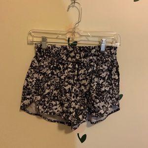 lululemon floral shorts